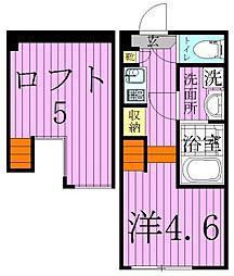 Harmony Terrace JOY CUBE[1階]の間取り