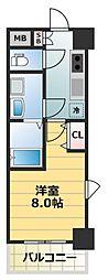 S-RESIDENCE緑橋Serio[11階]の間取り