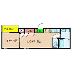 Fmaison verdeII[1階]の間取り