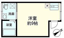 ザテン[2階]の間取り