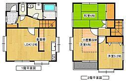 [一戸建] 神奈川県横浜市泉区中田西2丁目 の賃貸【/】の間取り
