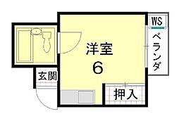 吉田マンション[502号室]の間取り