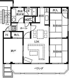 メゾンオグラ[2階]の間取り