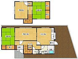[一戸建] 広島県安芸郡府中町みくまり3丁目 の賃貸【/】の間取り