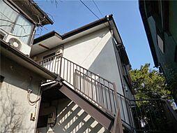 東京都港区高輪1丁目の賃貸アパートの外観