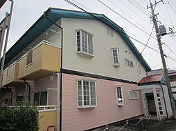 埼玉県新座市新堀2丁目の賃貸アパートの外観