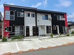 秋田県大仙市佐野町の賃貸アパートの外観