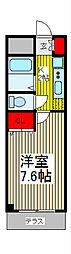埼玉県さいたま市桜区南元宿1丁目の賃貸マンションの間取り