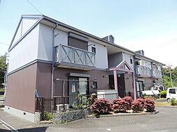 滋賀県栗東市御園の賃貸アパートの外観
