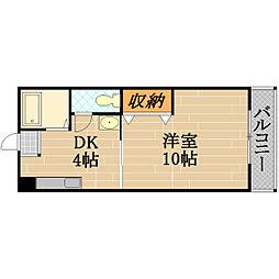 AZU PATIO[2階]の間取り