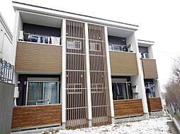千葉県松戸市幸谷の賃貸アパートの外観