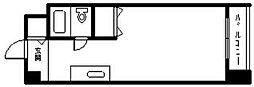 メゾンドノール[512号室]の間取り