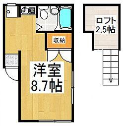 シャトリエ7[1階]の間取り