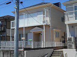神奈川県横浜市青葉区荏田西3丁目の賃貸アパートの外観