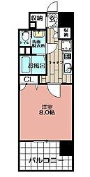 BOA VISTA博多駅[501号室]の間取り