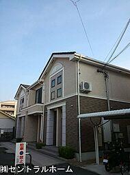 大阪府堺市北区蔵前町2丁の賃貸アパートの外観