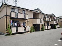 滋賀県守山市勝部4丁目の賃貸アパートの外観