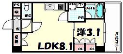 アバンダントハウス[5階]の間取り