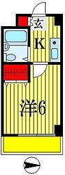 リエス西船橋[5階]の間取り