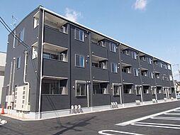 広島県福山市新涯町5丁目の賃貸アパートの外観