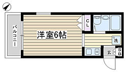 CELL HOME[305号室]の間取り