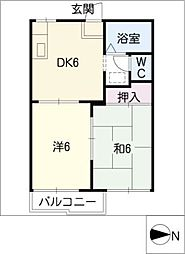 パークハウス[1階]の間取り