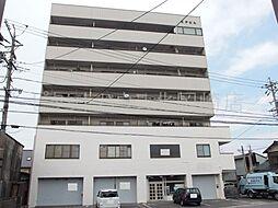 愛知県岡崎市大平町字辻杉の賃貸マンションの外観