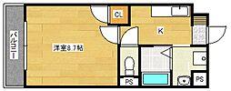 ドリームハウスIII[2階]の間取り