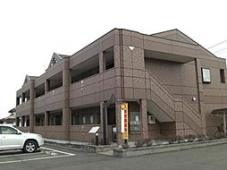 岡山県井原市下出部町1丁目の賃貸アパートの外観