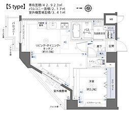 ズーム板橋大山[5階]の間取り