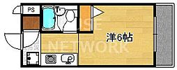 マーク西陣[309号室号室]の間取り