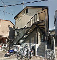 京都府京都市北区大宮南林町の賃貸アパートの外観