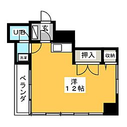 SAWA BLD[2階]の間取り