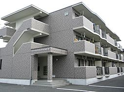 栃木県栃木市平柳町3丁目の賃貸マンションの外観
