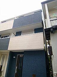 大阪府大阪市阿倍野区播磨町3丁目の賃貸アパートの外観