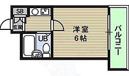 寺田町駅 3.3万円