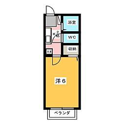 メゾン宮根台[1階]の間取り