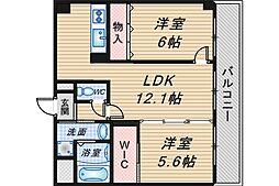 コートイケガミ[2階]の間取り
