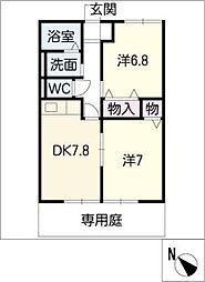 ハイツKOBAYASHI[1階]の間取り