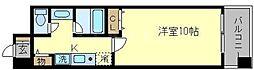 アーバンエース西中島パル[7階]の間取り
