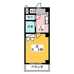 ヤマトマンション大須II[5階]の間取り