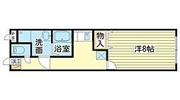 MISTRAL飾磨駅前[305号室]の間取り