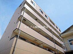 岡山県岡山市北区富町1の賃貸マンションの外観