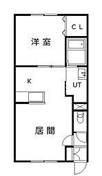 新築 MODE A[2階]の間取り