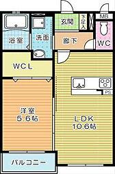 S−COURT[2階]の間取り