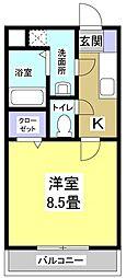 BONITO[1階]の間取り