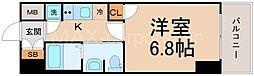 レジュールアッシュPREMIUMTWIN−II[8階]の間取り