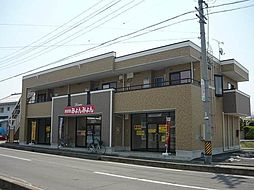 長野県千曲市大字粟佐の賃貸アパートの外観