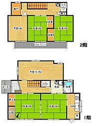 [一戸建] 東京都八王子市みつい台2丁目 の賃貸【/】の間取り