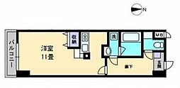 AXiS空港通[403 号室号室]の間取り